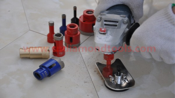 Vaccum Brazed Diamond Core Drill