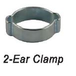 Two ear clamp