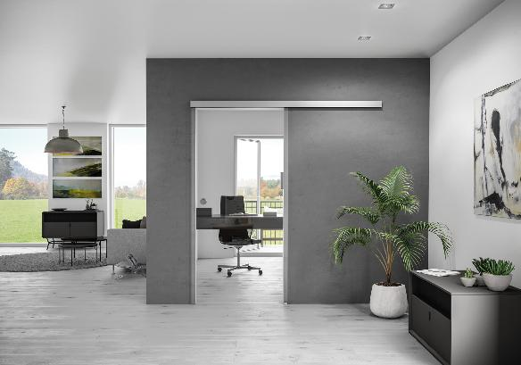 MasterTrack FT: new high-tech complete solution for sliding doors